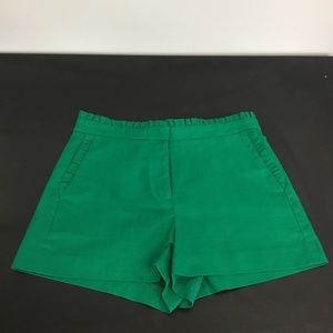 Green J Crew Shorts- Size 8